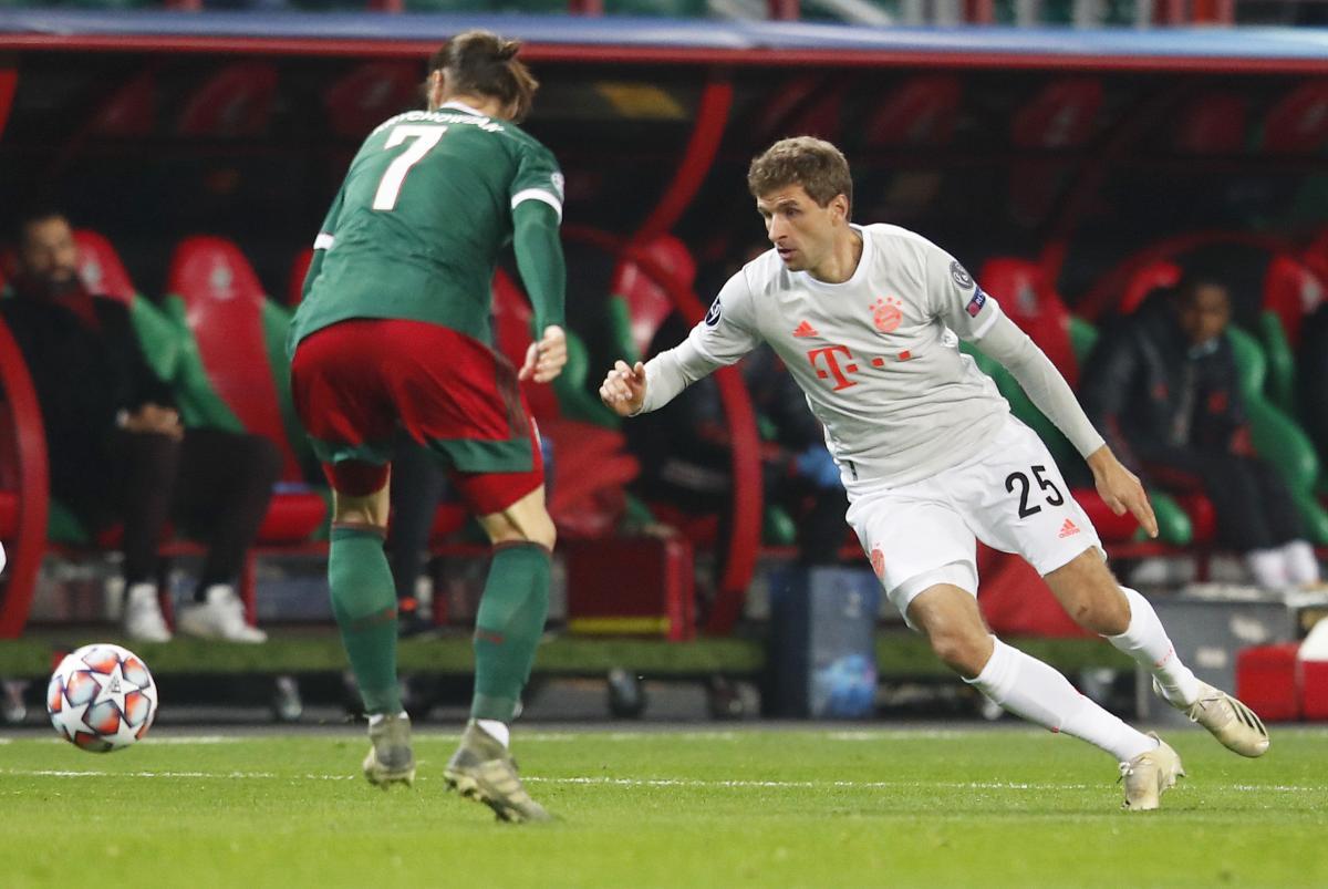 Локомотив - Бавария / фото REUTERS