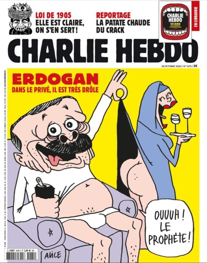 фото Charlie Hebdo / Twitter