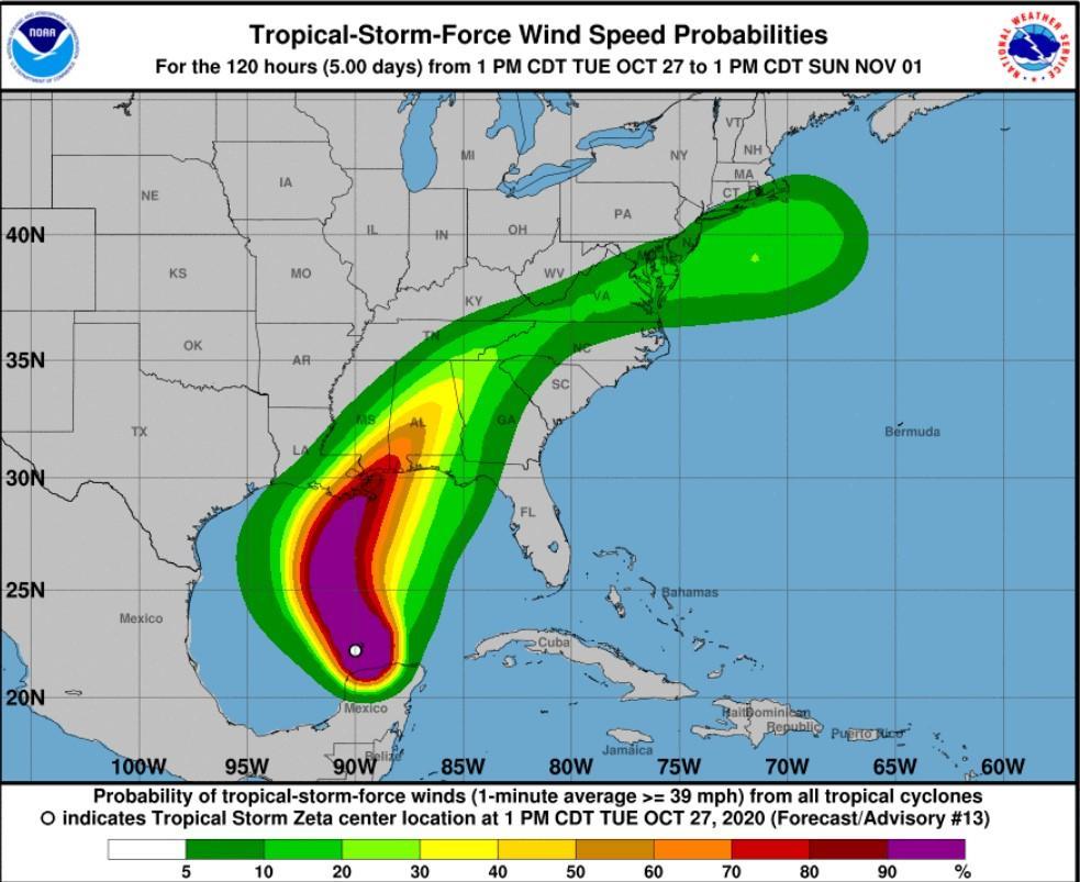 фото Національний центр ураганів США
