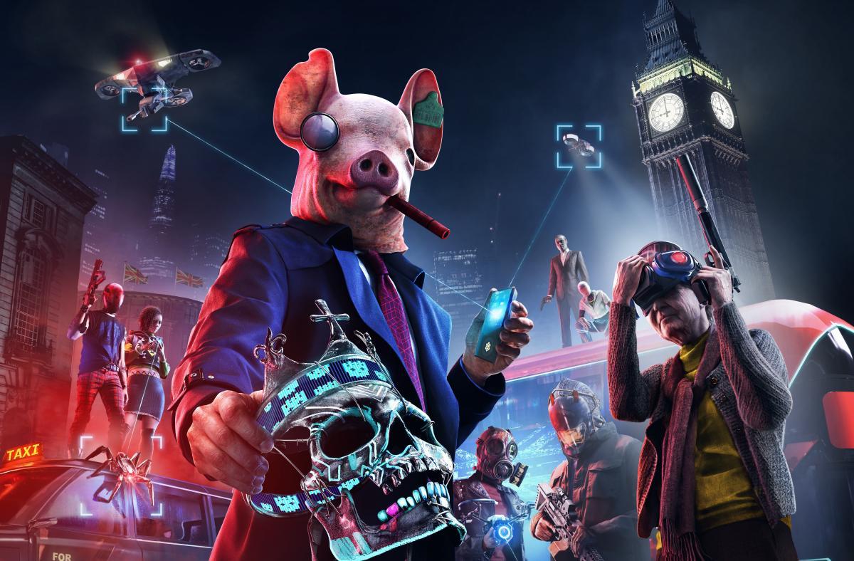 У Watch Dogs: Legion можна зіграти безкоштовно з 3 по 6 вересня / фото Ubisoft