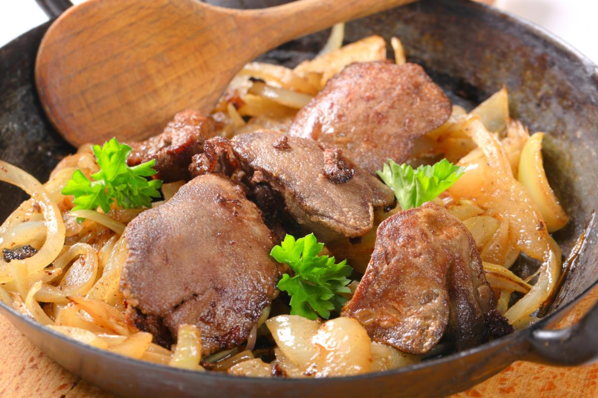 Жаренная куриная печень - рецепт / фото ua.depositphotos.com
