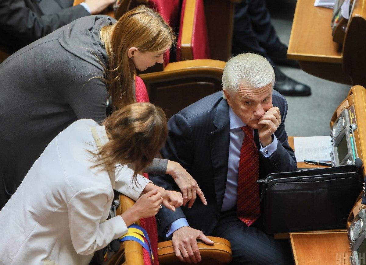 Скандальний Литвин каже, що подав документи на ректора КНУ / Фото УНІАН