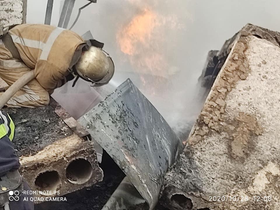 В результате взрыва погибли два человека / фото ГСЧС