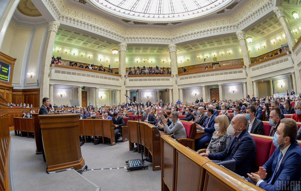 Разумков отметил, что ВР будет работать во время локдауна / Фото УНИАН, Андрей Крымский