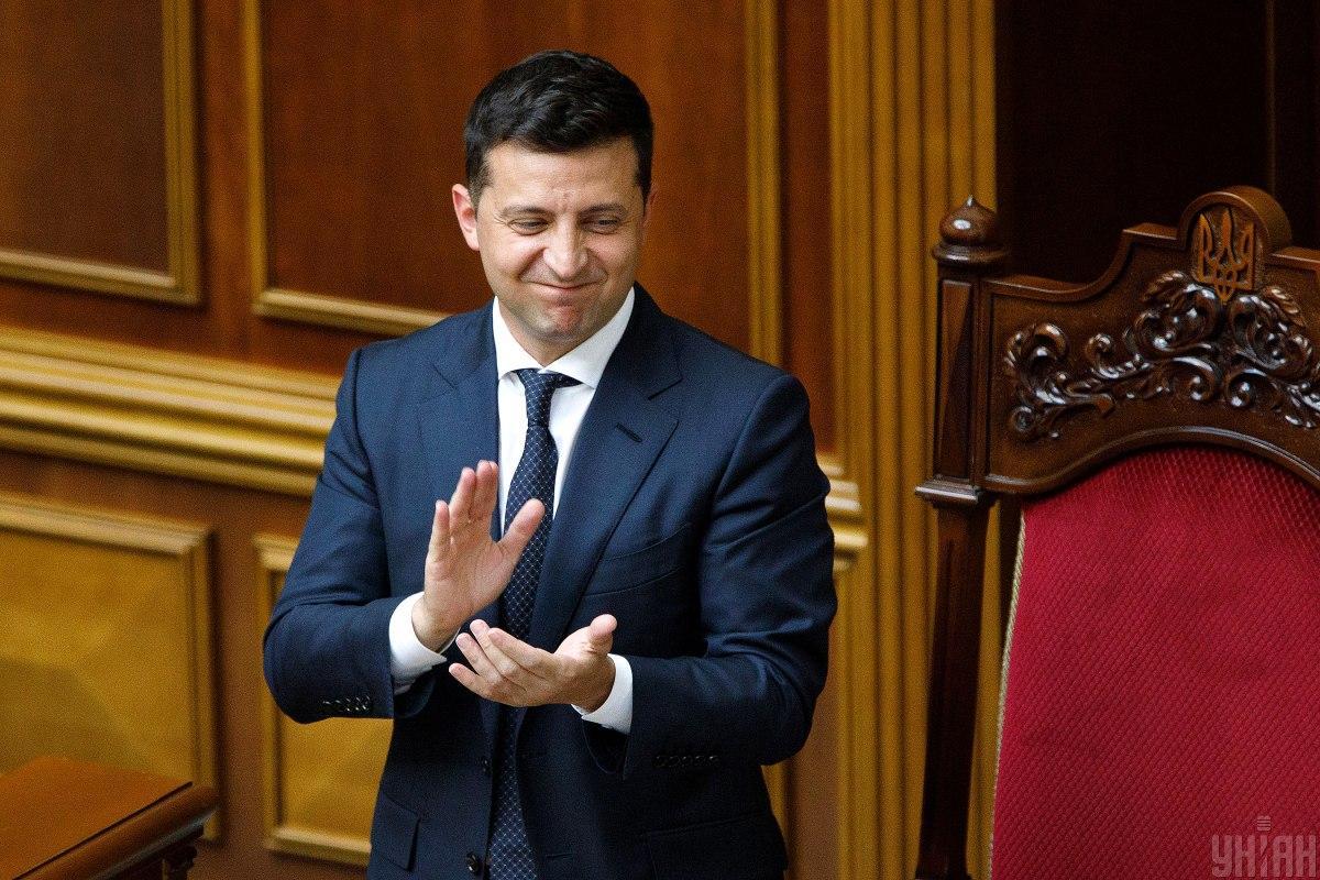 Зеленский поблагодарил депутатов за одобрение законопроекта об олигархах / фото УНИАН, Александр Кузьмин