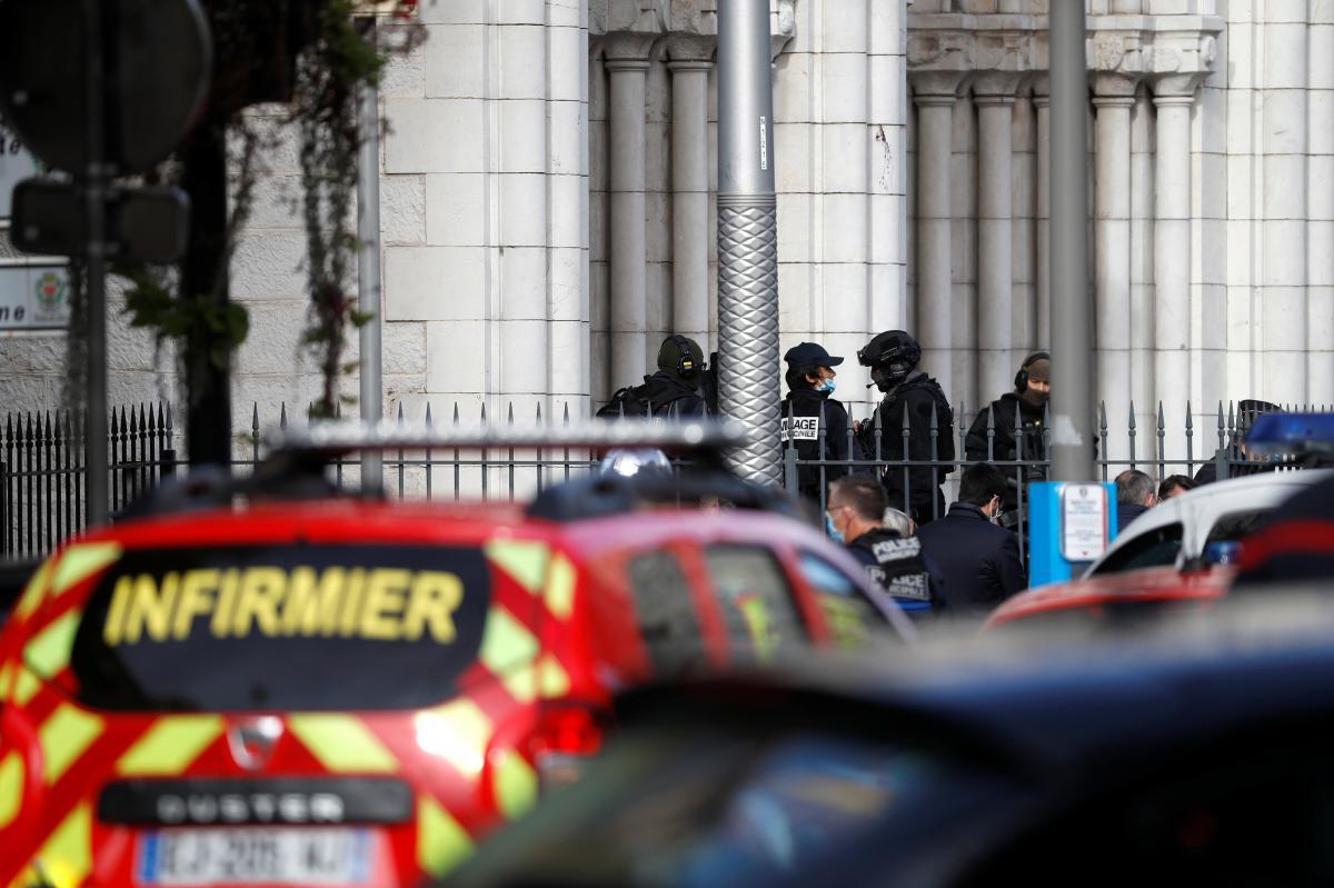 Нападение в Ницце / фото REUTERS