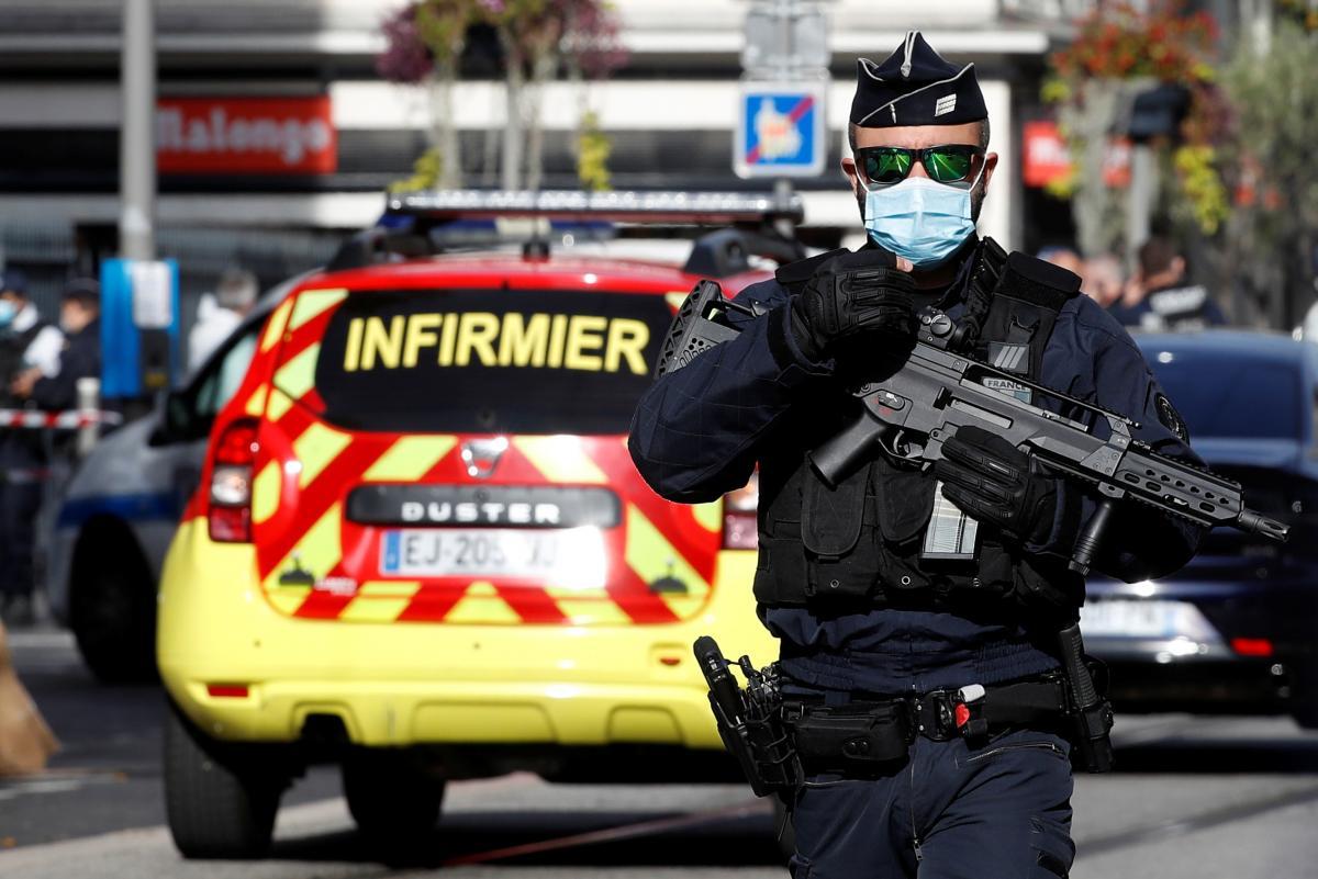 У Франції зафіксована ще одна атака ймовірного ісламіста / фото REUTERS
