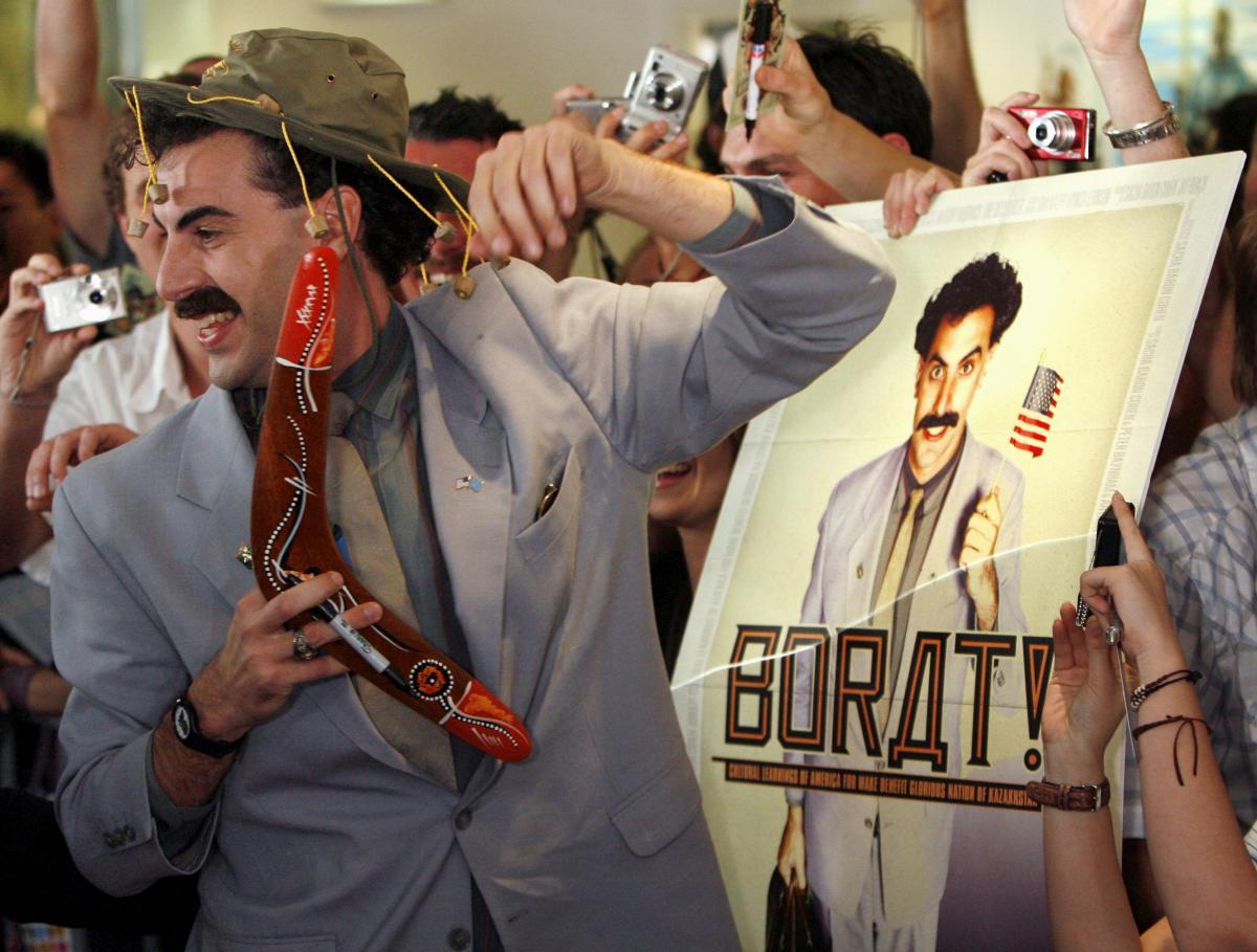 Саша Барон Коэн в образе Бората / фото REUTERS