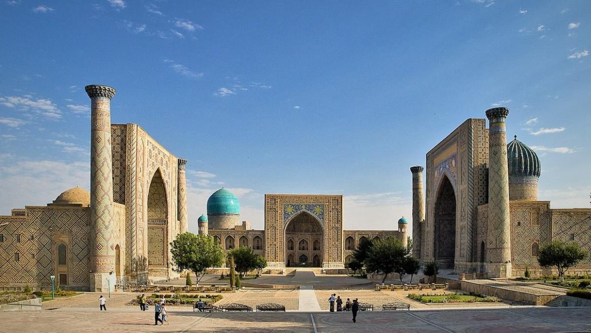 Кулеба назвав Самарканд одним з найкрасивіших міст країни \ Вікіпедія