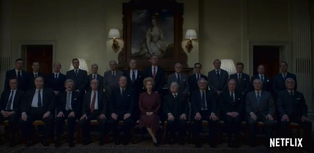 Маргарет Тетчер грає Джилліан Андерсон \ скріншот з відео