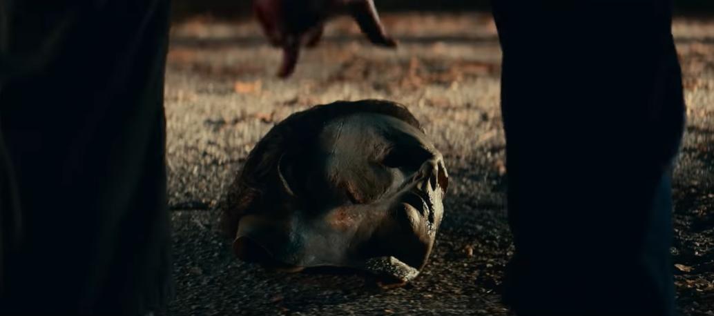 """Главную роль в ленте """"Хэллоуин убивает"""" играет Джейми Ли Кертис \ скриншот с видео"""