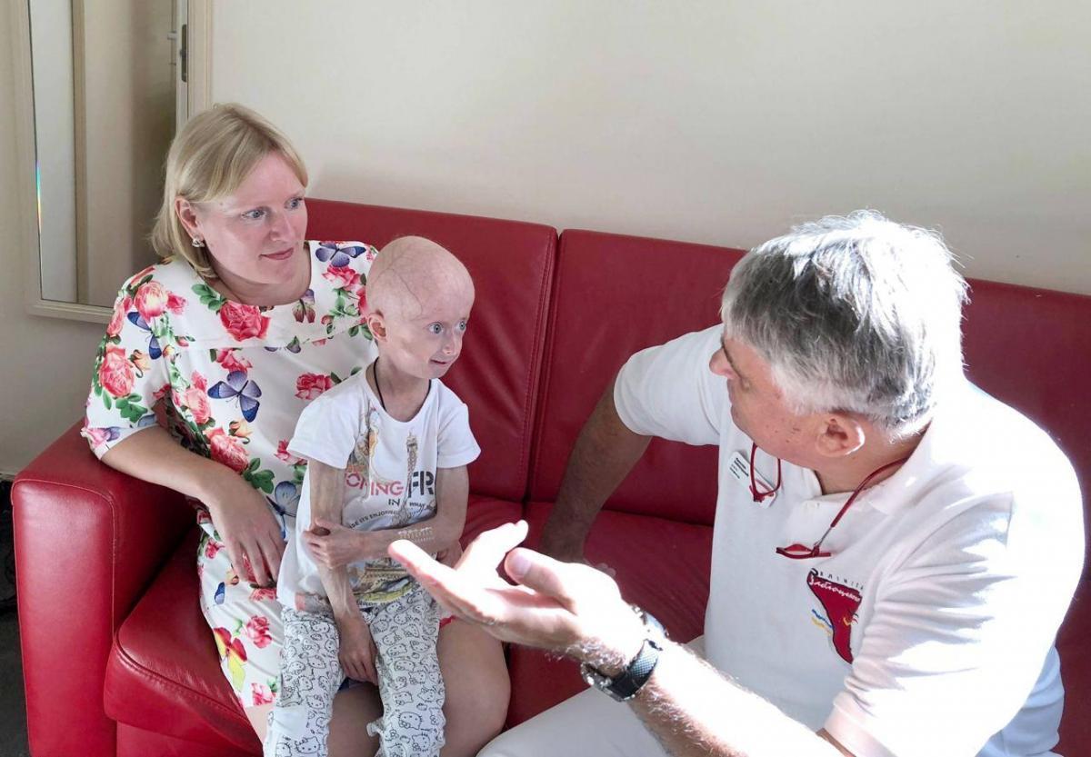 10-річна Ірина Хіміч-єдина в Україні дівчинка, у якої діагностували прогерію / 112.ua
