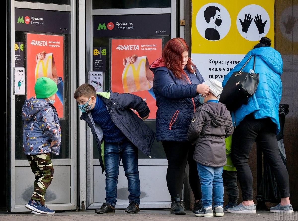 За минувшие сутки в Киеве обнаружили 931 случай коронавируса / фото УНИАН