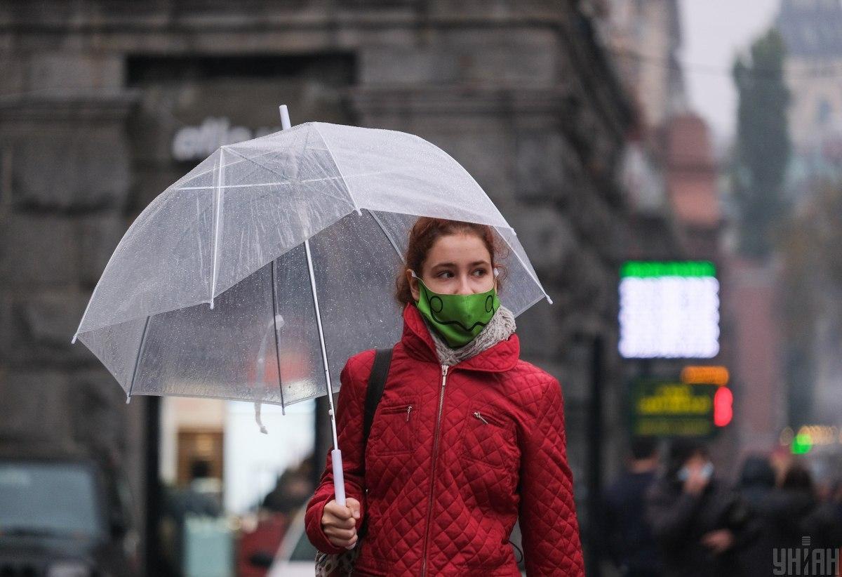 Сьогодні в Києві дощитиме / фото УНІАН