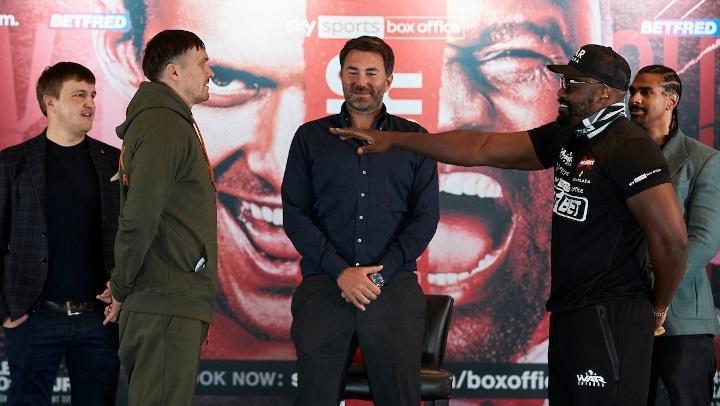 На кону боя не будет чемпионских поясов / фото Matchroom Boxing