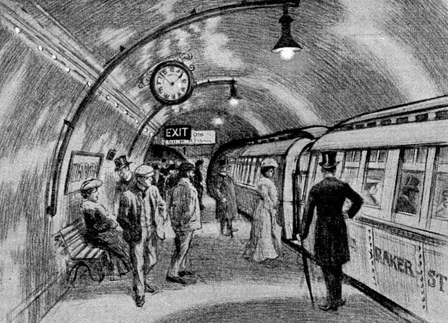 4 ноября в 1890 году в Лондоне открылось метро / фото Википедия