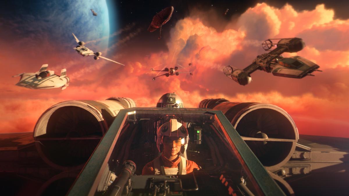 Star Wars: Squadrons вышел в октябре 2020 года /фото Electronic Arts