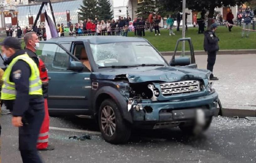 ДТП на Майдані / фото kyiv.npu.gov.ua