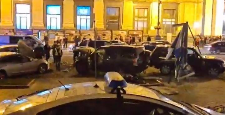 ДТП на Майдане - против водителя открыть дело, что показал тест на алкоголь / Скриншот