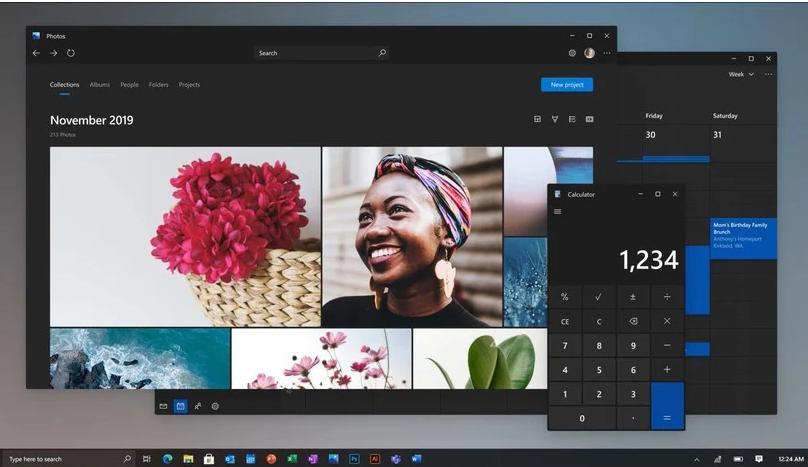 Новый дизайн Windows 10 / фото windowscentral.com