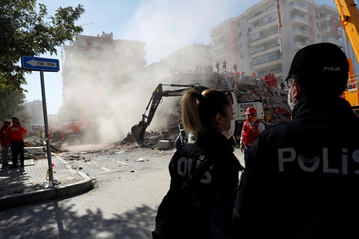 Землетрясение в Турции - свежие данные по количеству погибших / REUTERS