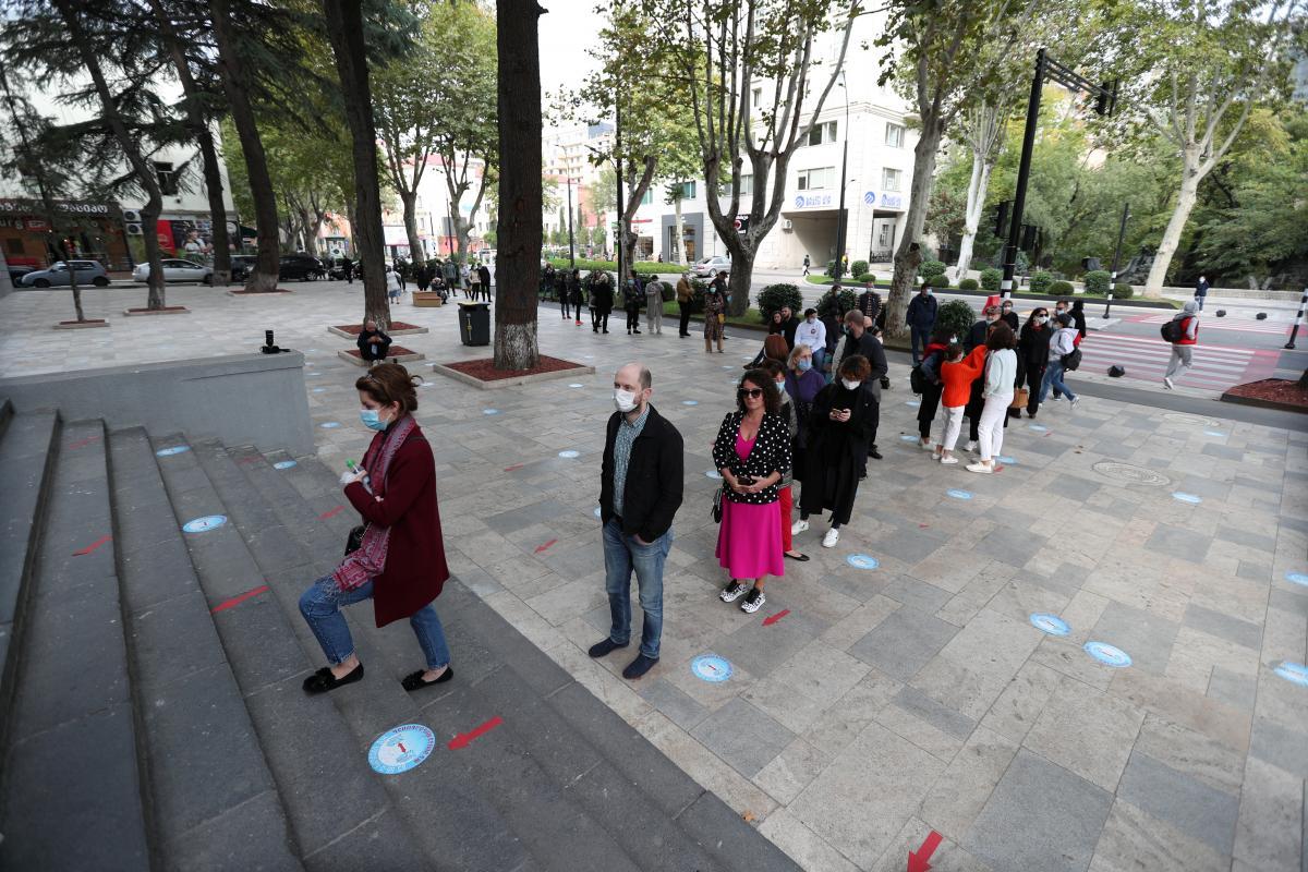 Грузія - у країні проходять парламентські вибори/ REUTERS