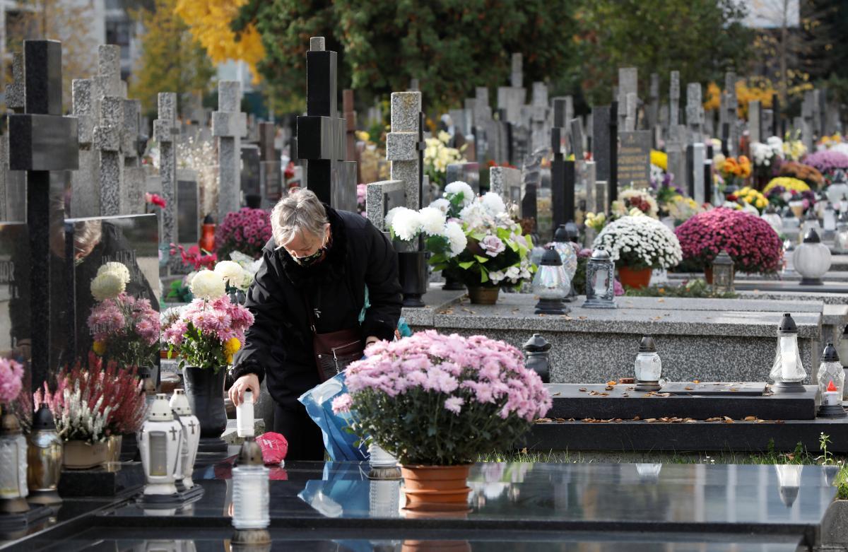 Через коронавирус в Польше объявили о закрытии всех кладбищ / REUTERS