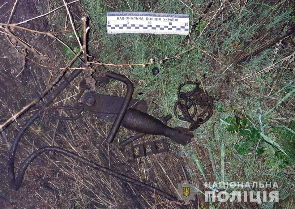 Металлолом, за который мужчина заплатил жизнью / фото su.npu.gov.ua