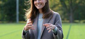 Кейт Миддлтон в элегантном аутфите произвела фурор на встрече в Лондоне (фото)