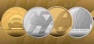 В Британии выпустили памятные монеты в честь Джеймса Бонда