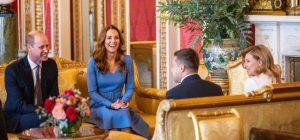 Президент и первая леди встретились с принцем Уильямом и Кейт Миддлтон в Букингемском дворце (фото)