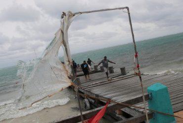 На США надвигается мощный ураган Зета