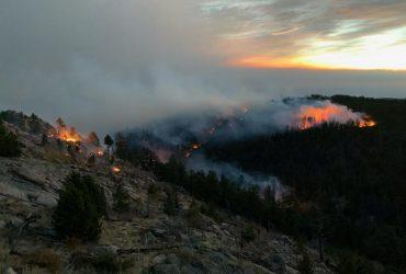 В Колорадо полыхает крупнейший пожар за всю историю наблюдений (фоторепортаж)