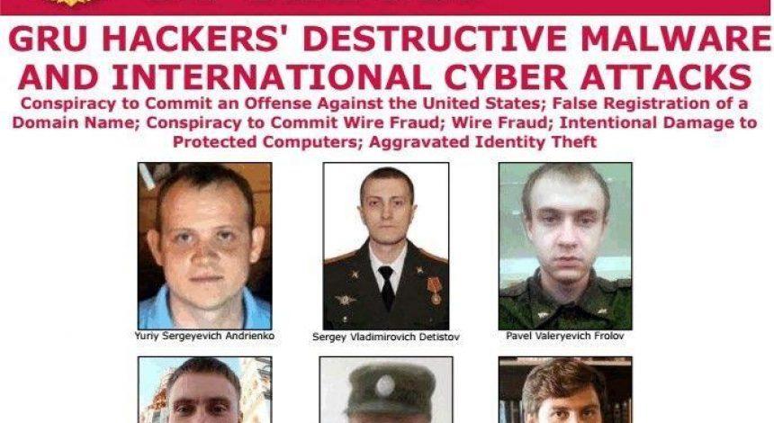 Стоят за вирусом NotPetya: в США назвали имена офицеров ГРУ, устроивших кибератаки по всему миру