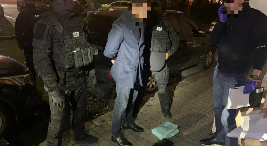 Держбюро розслідувань затримало одного з керівників ДФС на хабарі у $200 тисяч