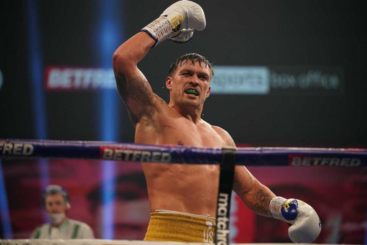 Усик проведе чемпіонський бій з Джошуа/ фото REUTERS