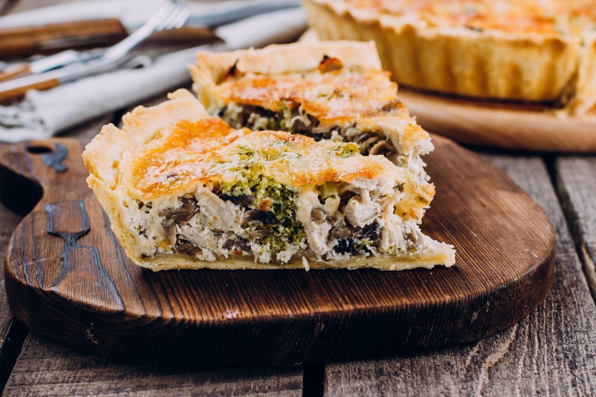 Как приготовить пирог с брокколи / фото ua.depositphotos.com