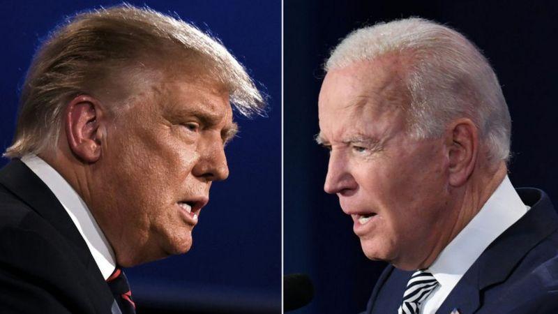 Дональд Трамп и Джо Байден / фото Getty images