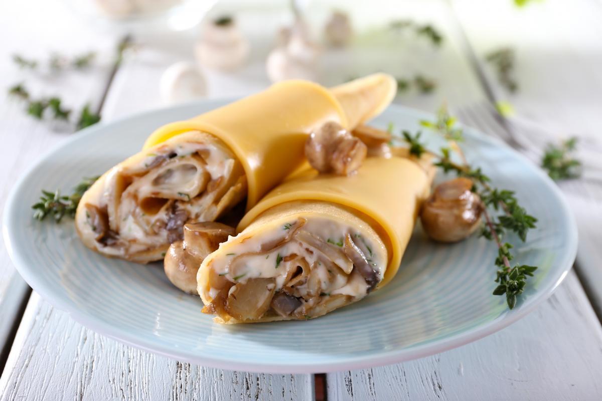 Рецепты блинов с грибами / фото ua.depositphotos.com