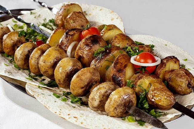 Шашлык из грибов рецепт маринада / фотоeat-me.ru