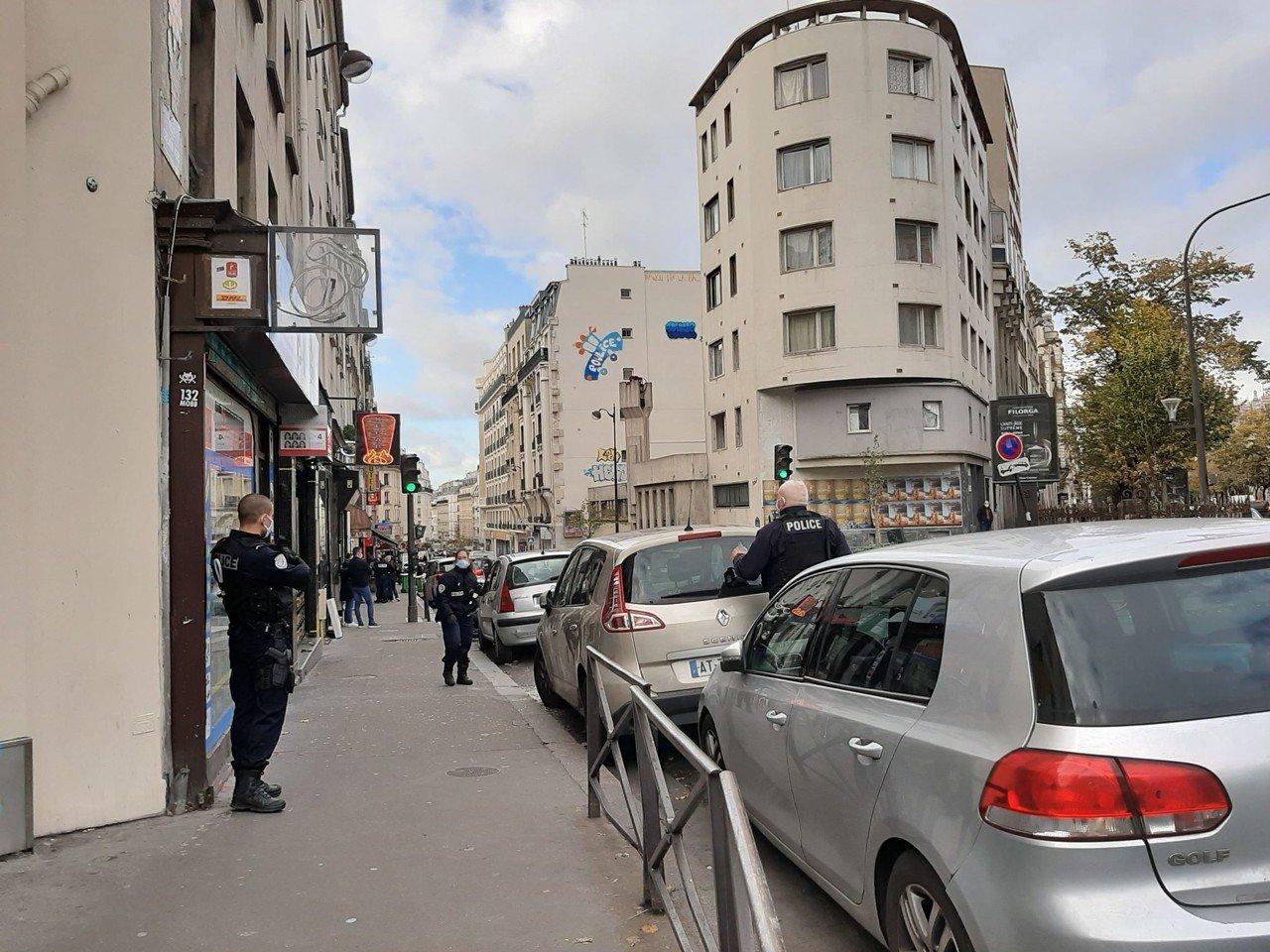 Несколько человек видели мужчину утром недалеко от метро / фото actu.fr
