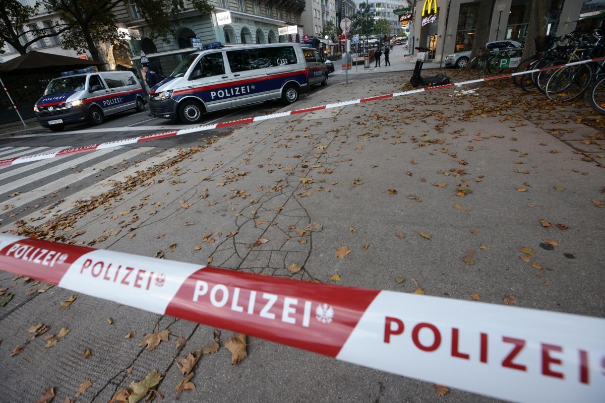 Теракт у Відні 2 листопада / фото REUTERS