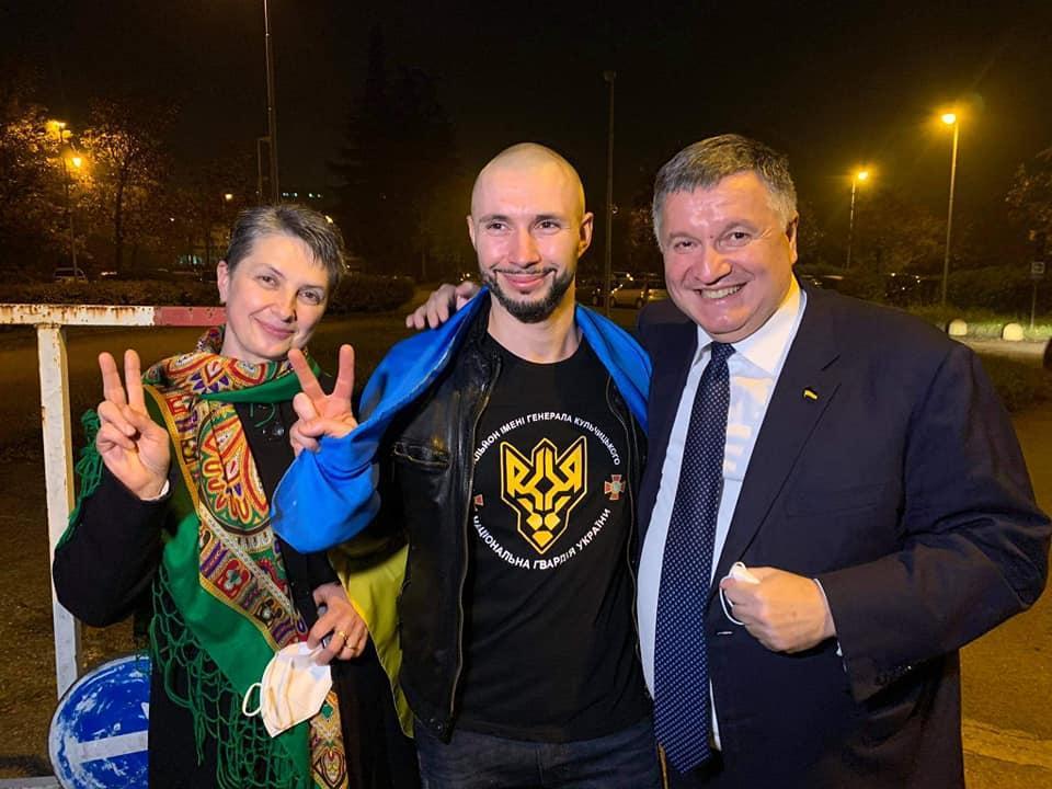 Виталий Маркив на свободе / фото МВД