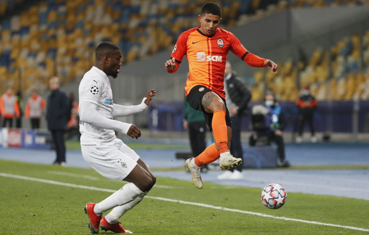 Додо в матче против Боруссии / фото REUTERS