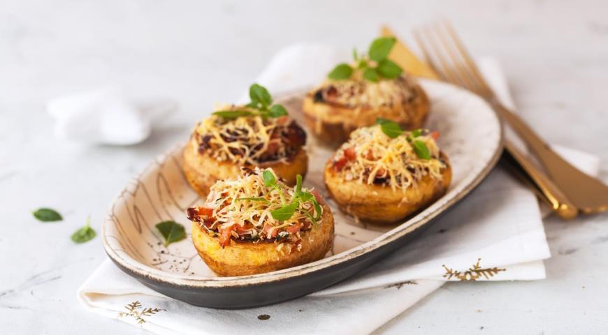 Рецепты фаршированных грибов / фото gastronom.ru