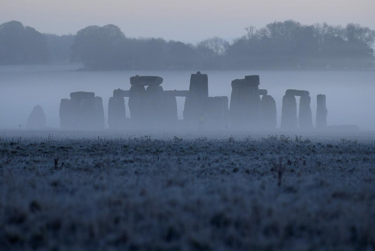 Стоунхедж в тумане / фото REUTERS