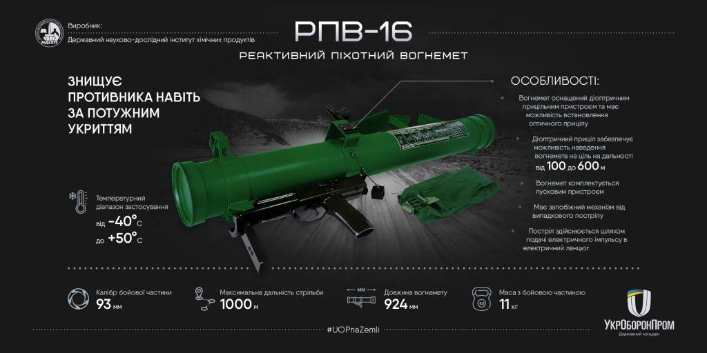 РПО-16 принят на вооружение Вооруженных сил Украины в 2017 году \ ukroboronprom.com.ua