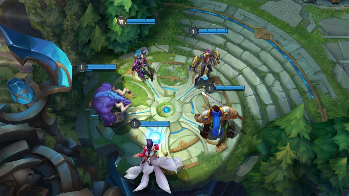 В команды LoL входят по пять человек, каждый из которых выбирает себе чемпиона / фото pcgamer.com