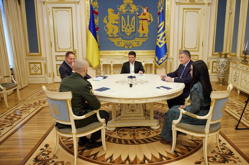Маркив встретился с Зеленским / пресс-служба ОП