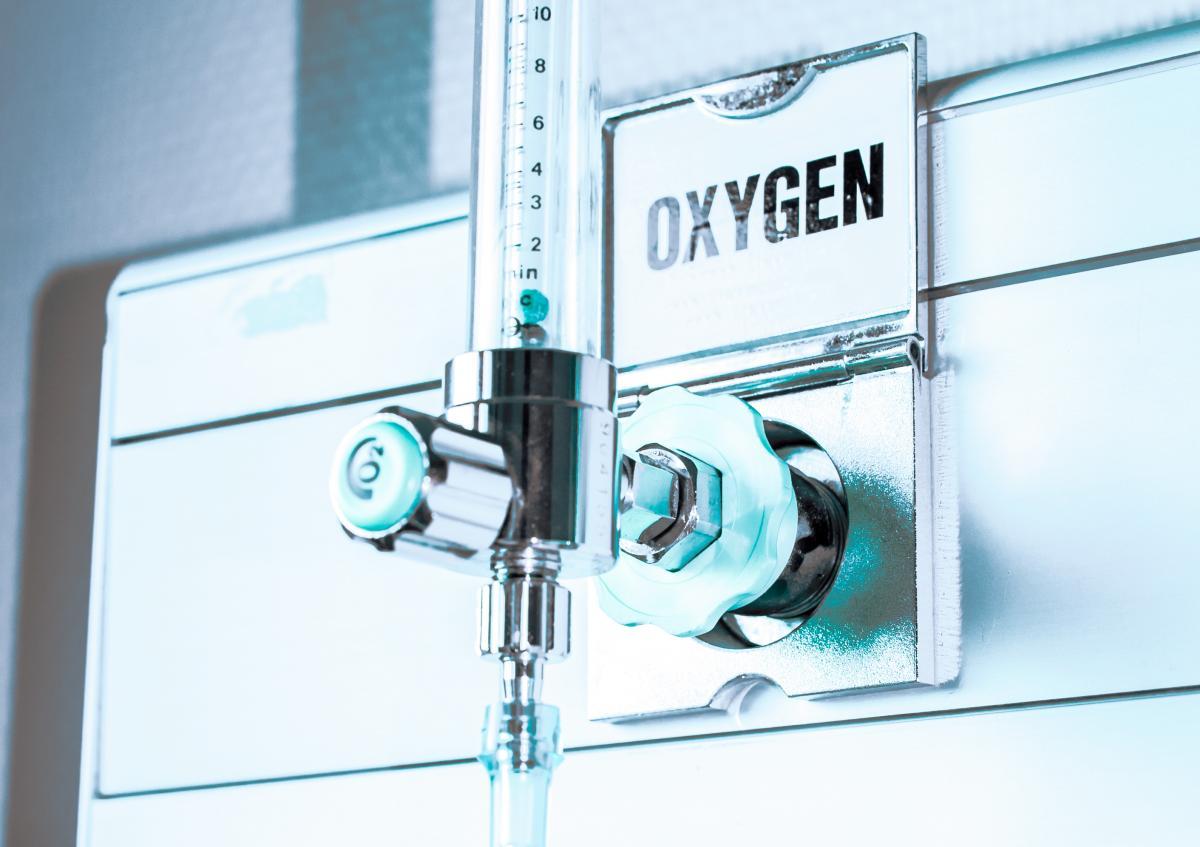 Сейчас кислородом обеспеченыпочти 20 тысяч коек / фото ua.depositphotos.com